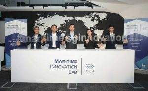 maritime innovation lab, MPA Singapore