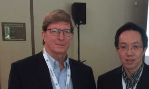 Paul Holthus, President and CEO of World Ocean Council (WOC) and Lee Kok Leong, Executive Editor of Maritime Fairtrade