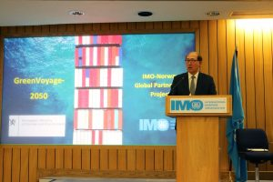 international maritime organization speaker, green voyage 2050, imo Norway, global partner project
