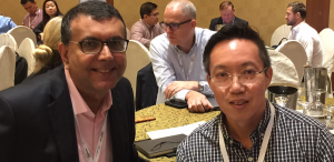 Lee Kok Leong, Bob Gill, general manager, Southeast Asia at ARC Advisory Group