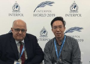 Interpol world 2019 photo with Kok Leong