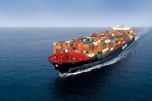 Tsingtao express container ship