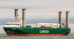 Wind propulsion ship for decarbonization clean energy Enercon