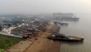 shipbreaking alang beach India