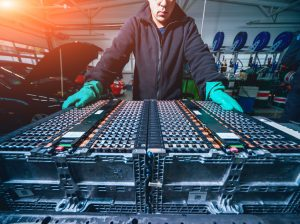 demand for electric car battery