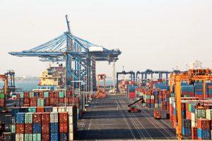 improvement in port capacity utilization