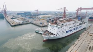 World's largest civilian hospital ship nears delivery