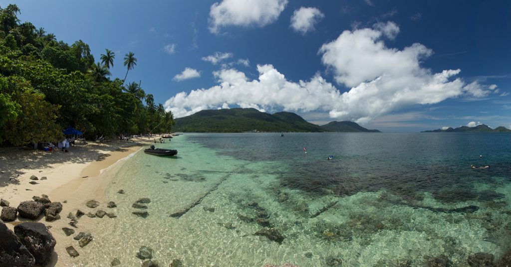 Palau Setaik Island, Natuna Islands