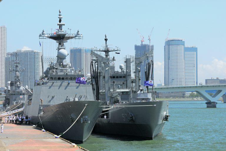 South Korean Navy uses Rolls-Royce gas turbines to power frigates