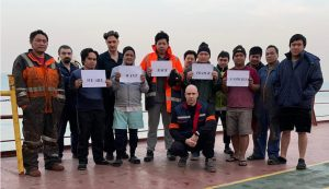 Seafarers from MV Christine Oldendorff still stranded after eight months