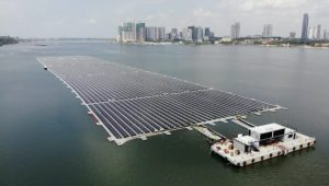 Singapore firm installs one of world's largest offshore floating solar farms in Johor Straits