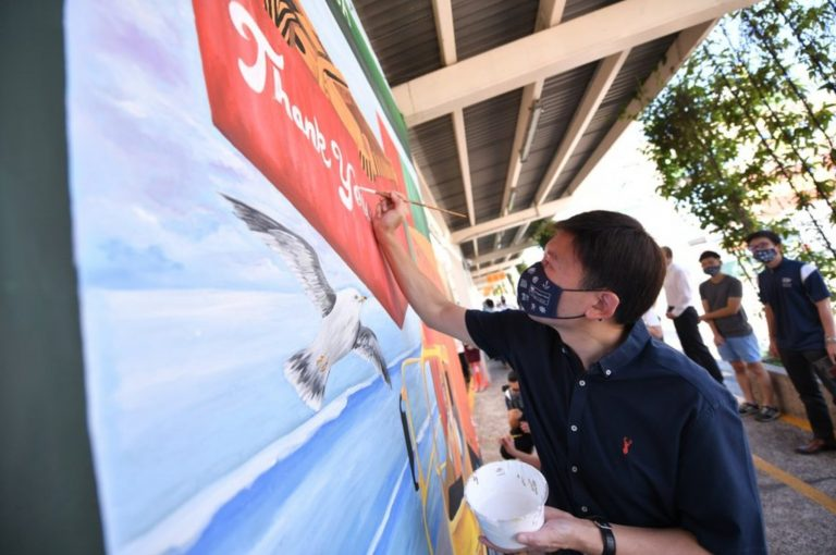 Singapore immortalizes contribution of seafarers with mural art