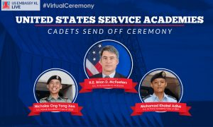 Two outstanding young Malaysians accepted to U.S. service academies