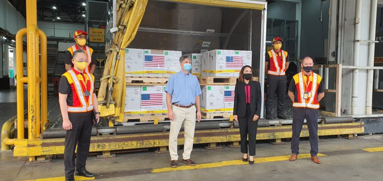 DHL delivers US donation of Pfizer-BioNTech vaccines to Malaysia