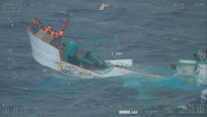 Australia rescues 20 Indonesian fishermen off Perth