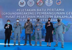 Indonesia, U.S. build maritime training center on edge of South China Sea