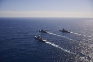 Australian Navy's most advanced warships ready for operations