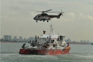 Singapore tests ferry mishap readiness in multi-agency exercise