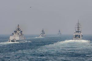 Australia, India, Japan, U.S. in maritime exercise Malabar