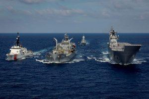 U.S. Coast Guard Cutter, Royal Australian Navy engage in maritime training
