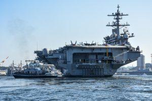 USS Carl Vinson arrives in Japan for port visit