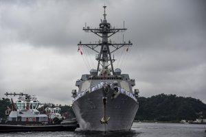 USS Dewey arrives in Japan, joins U.S. 7th Fleet Forces