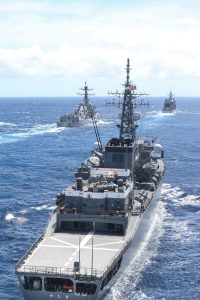 U.S. Navy, Japan Maritime Self-Defense Force in joint exercise