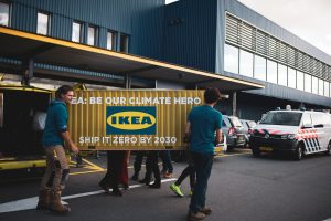 Climate advocates call out IKEA's ship pollution problem