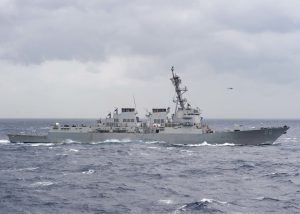 Australia, India, Japan, U.S. in phase II of MALABAR maritime exercise in Bay of Bengal