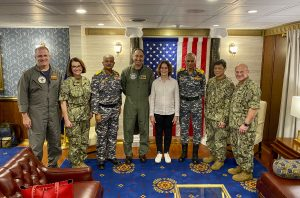 U.S. hosts Indian navy officers during Exercise Malabar