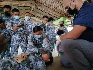 U.S., Philippine Coast Guard conduct tactical combat casualty care training
