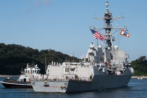 USS Ralph Johnson joins forward-deployed naval forces in Japan