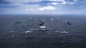 Warships from Australia, Japan, U.K., U.S. in joint exercise in Indian Ocean